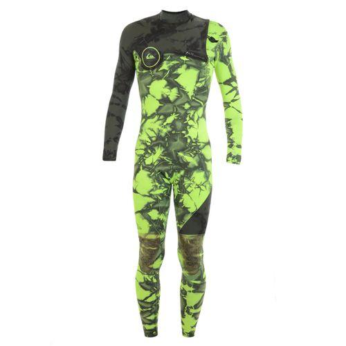 Long-John-Quiksilver-3-2-High-Lite-Zipless-GBS-Verde
