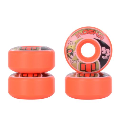Roda-Moska-Skate-Rock-53mm-53-Laranja
