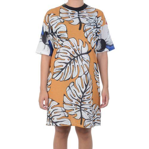 Vestido-Adidas-Farm-Rio-Tee-Amarelo