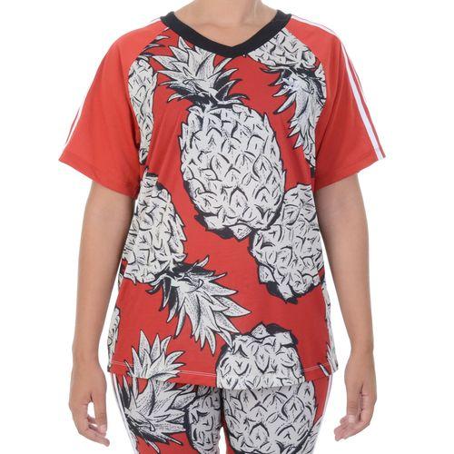 Blusa-Adidas-Farm-Rio-3-Stripes-Tee-Vermelho