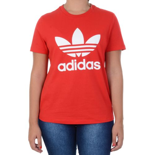 Blusa-Adidas-Trefoil-Vermelha
