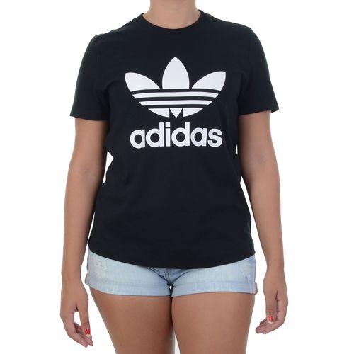 Blusa-Adidas-Trefoil-Preta