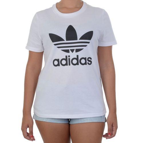 Blusa-Adidas-Trefoil-Branco