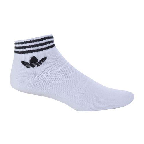 Meia-Adidas-Trefoil-3-Pares-Branca
