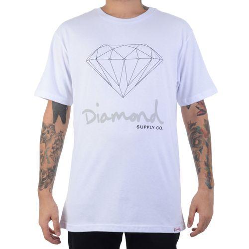 Camiseta-Diamond-Manga-Curta
