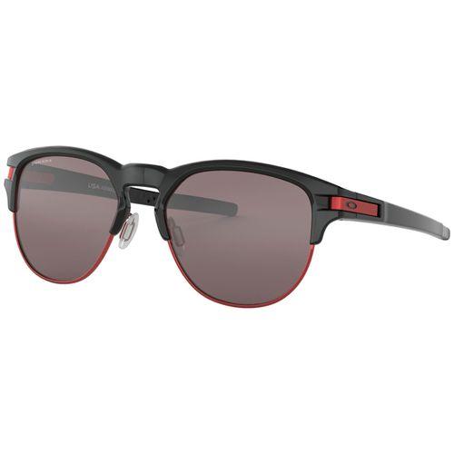 Oculos-Oakley-Latch-Key-Preto-e-Vermelho