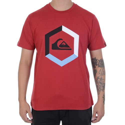 Camiseta-Quiksilver-Hexagono-Vermelha