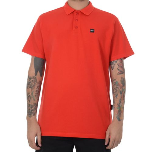 Camiseta-Polo-Oakley-Mod-Elevated-Vermelho