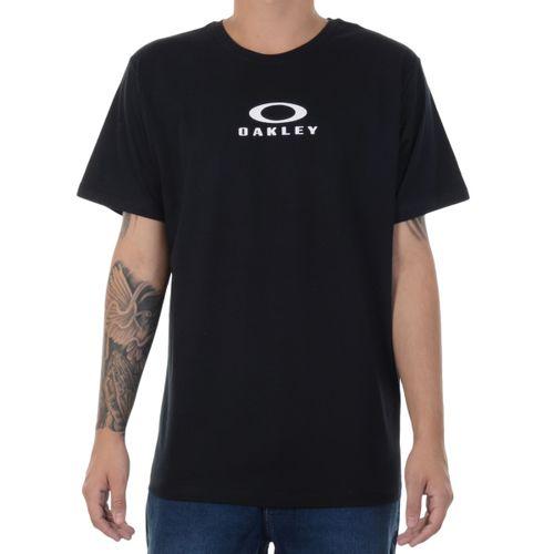 Camiseta-Oakley-Bark-New-Preta