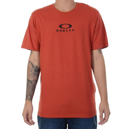 Camiseta-Oakley-Bark-New-Vermelha