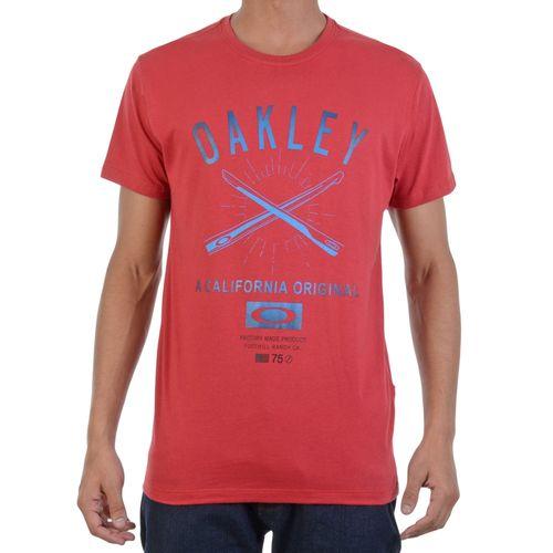 Camiseta-Oakley-Temple-Figth-Tee-Vermelha