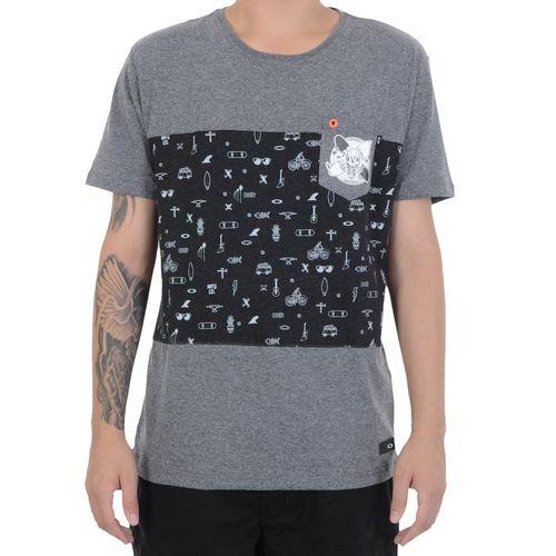 Camiseta-Oakley-Athletic-Heather-Chumbo