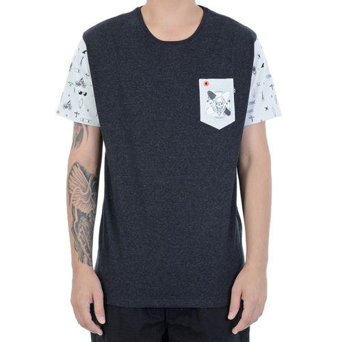 Camiseta-Oakley-Heather-Preta