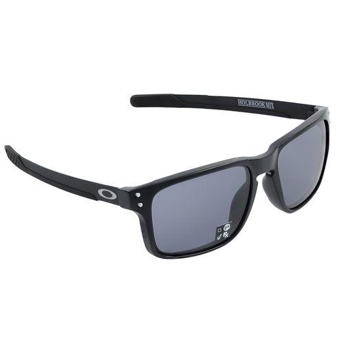 Oculos-Oakley-Holbrook-Mix-Matte-Preto-e-Cinza