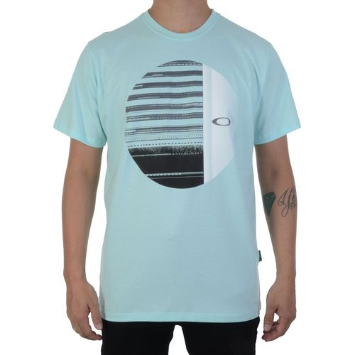Camiseta-Oakley-Mod-Disrupted-Elipse-Tee-Verde