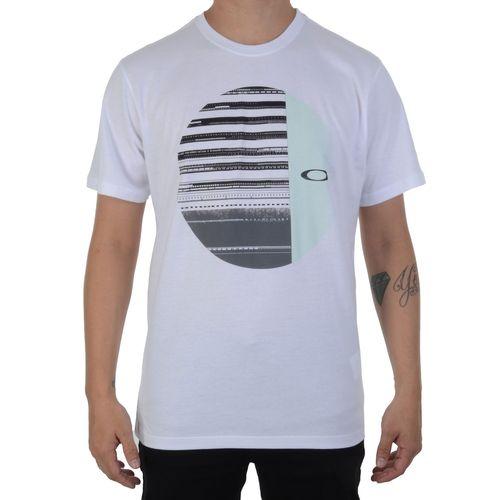Camiseta-Oakley-Mod-Disrupted-Elipse-Tee-Branca