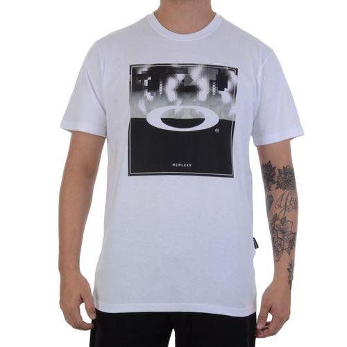 Camiseta-Oakley-Kaleidoscope-Branca