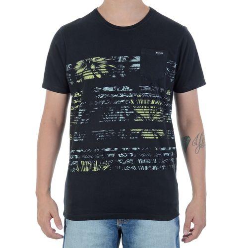 Camiseta-Oakley-Palm-Preta