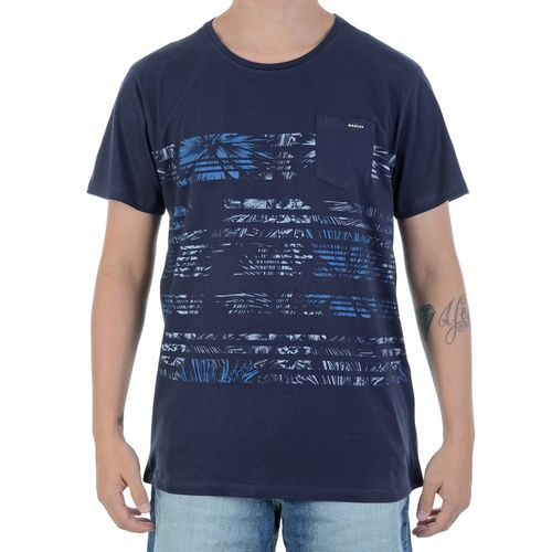 Camiseta-Oakley-Palm-Marinho