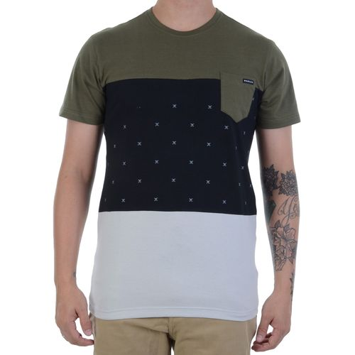 Camiseta-Oakley-Skull-Block-Verde