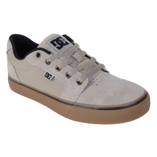 Tenis-DC-Shoes-Anvil-2-LA-Bege