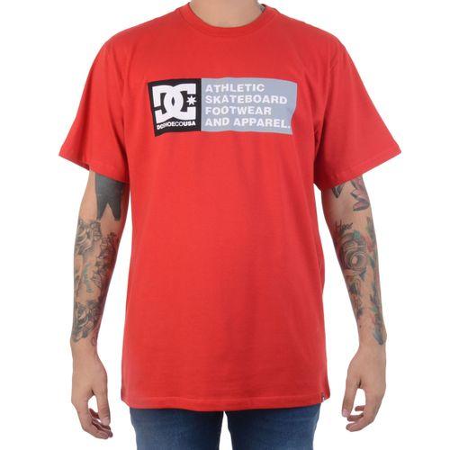 Camiseta-DC-Shoes-Racing-Vermelha