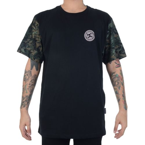 Camiseta-DC-Camo-Circle-Preta