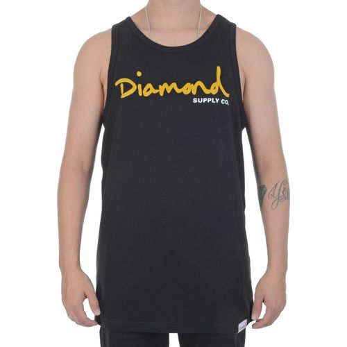 Camiseta-Regata-Diamond-Script-Tank