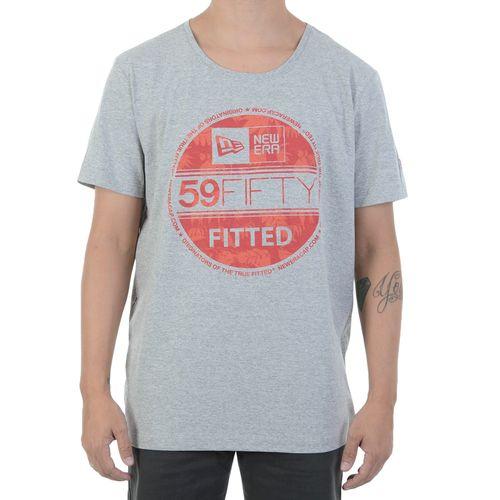 Camiseta-New-Era-Logo-Le-Fitted