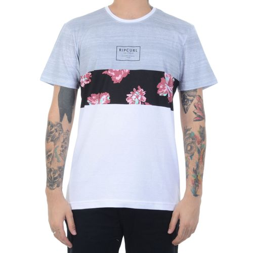 Camiseta-Rip-Curl-Flower-Cut-Cinza