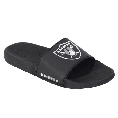 Chinelo-NFL-Raiders-Preto