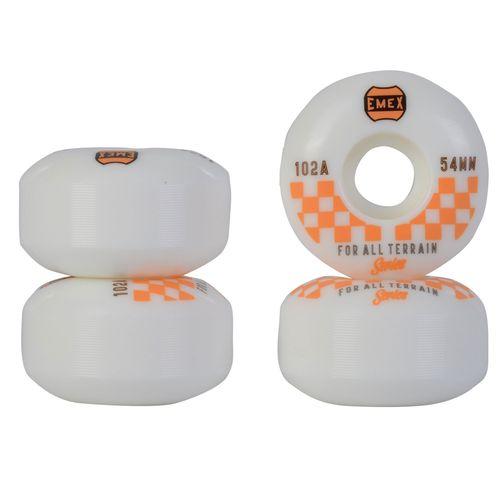 Roda-Sims-Emex-54mm-Laranja