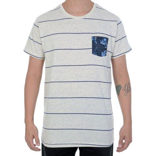 Camiseta-Billabong-Botone-Bege