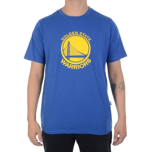 Camiseta-NBA-Warriors-Azul