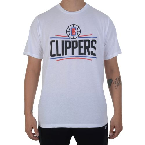 Camiseta-NBA-Clippers-Branca