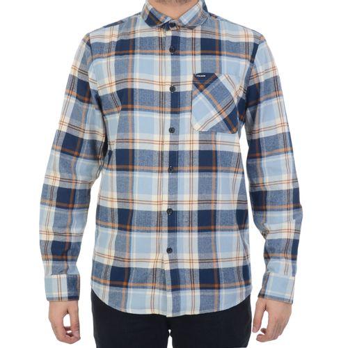 Camisa-Volcom-Everett-Azul