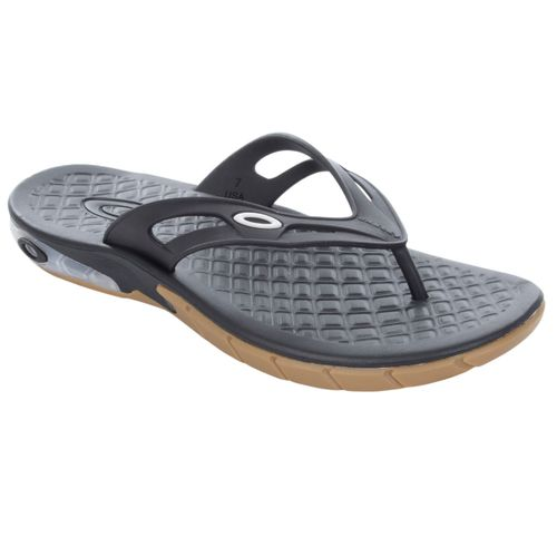 Chinelo-Oakley-Killer-Point-Preto-e-Latex-
