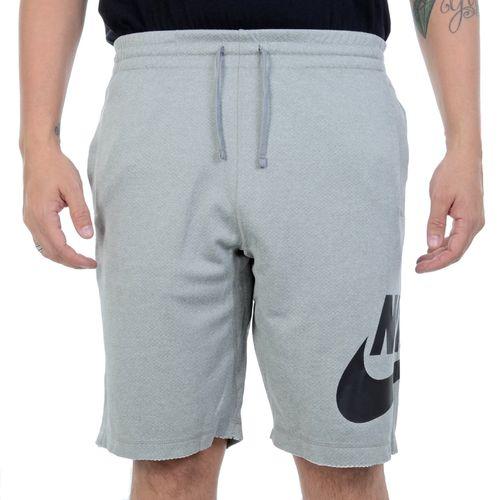 Bermuda-Moletom-Nike-SB-Soft-Cinza