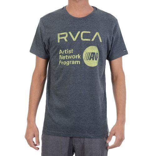 Camiseta-RVCA-Green-Peace-Chumbo