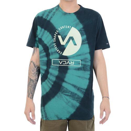 Camiseta-RVCA-Performance-Verde