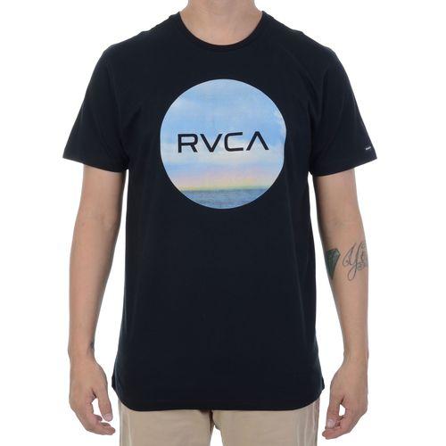 Camiseta-RVCA-Horizon-Motors-Preta