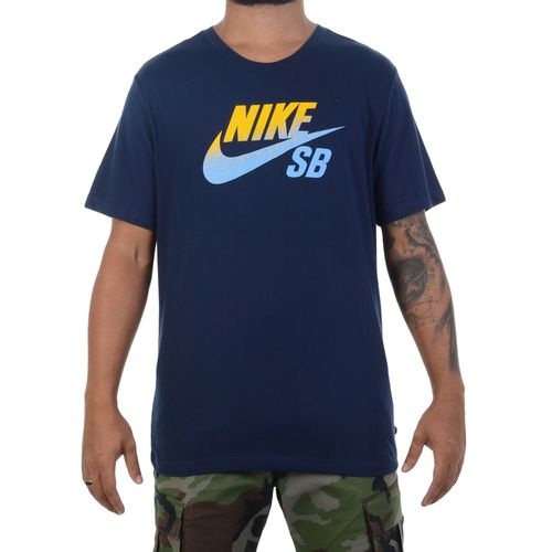 Camiseta-Nike-SB-NBA-Marinho