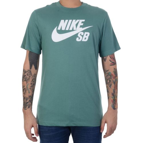 Camiseta-Nike-SB-Mens-Dri-Fit-Verde