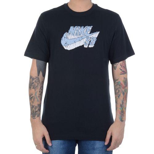 Camiseta-Nike-SB-Stone-Grey-Preta