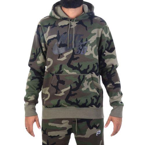 Moletom-Nike-SB-Camouflaged-Verde