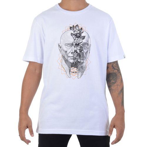 Camiseta-MCD-Head-Flowers-Branca