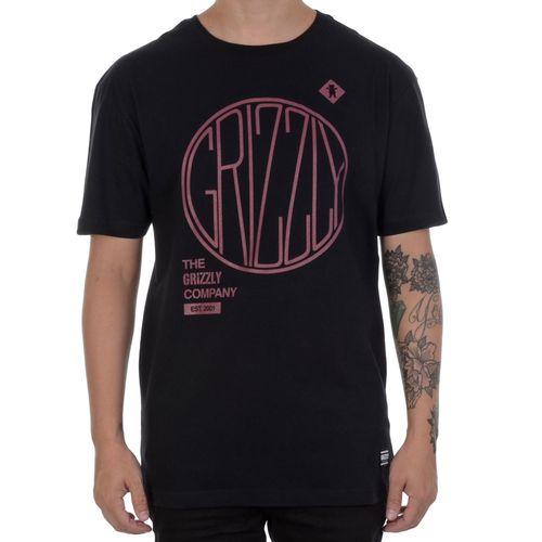 Camiseta-Grizzly-Locomotive-Preta