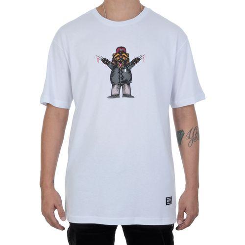 Camiseta-Grizzly-Carnivore-Branca