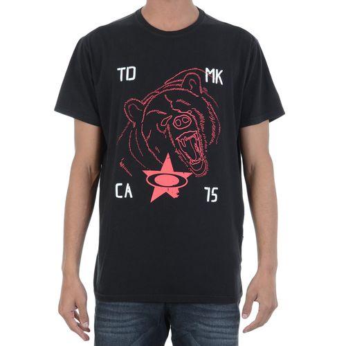 Camiseta-Oakley-Grunt-Preta