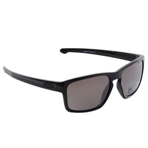 Oculos-Oakley-Sliver-Black-Polarized-Prizm